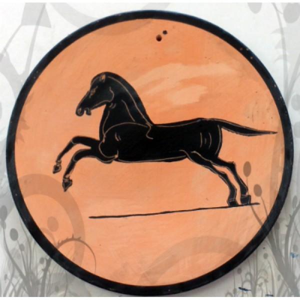 Μελανόμορφο άλογο